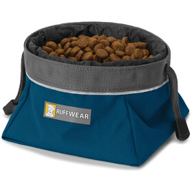 Ruffwear Quencher Cinch Top Ciotola, blue moon